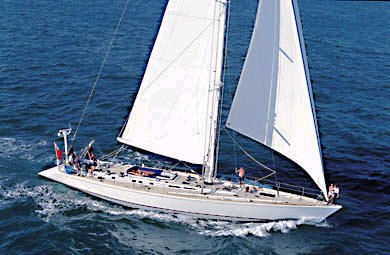 Sailing Yacht 'Hamilton'
